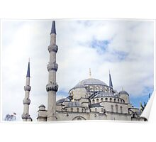 The Blue Mosque ~ Istanbul, Turkey Poster