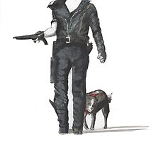 Mad Max & Dog by chaoticcoder