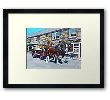 Dray Days of Summer Framed Print