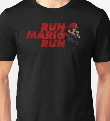 Super Mario - Run Mario Run - Dirty Unisex T-Shirt