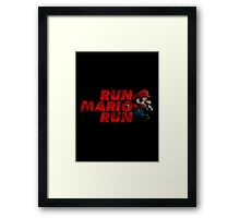 Super Mario - Run Mario Run - Dirty Framed Print
