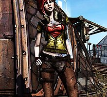 Borderlands - Cool Lilith Portrait by Mellark90