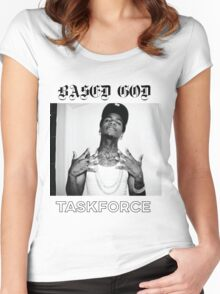 Based God Task Force Women's Fitted Scoop T-Shirt
