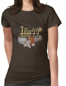 Alligator Womens Fitted T-Shirt
