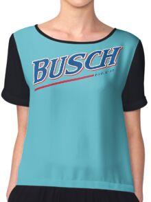 Busch Beer Chiffon Top