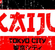 DANGER KAIJU poster Sticker