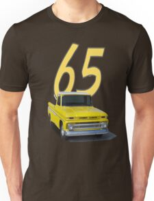 1965 Chevy Pickup - shirts, hoodies, stickers, notebooks.  Unisex T-Shirt