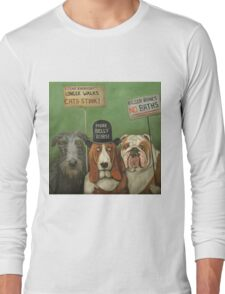 Dogs On Strike Long Sleeve T-Shirt