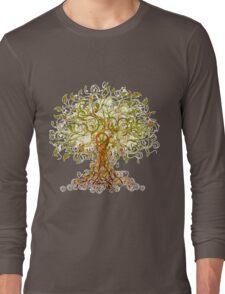 Colorful Modernist Tree 13 Long Sleeve T-Shirt