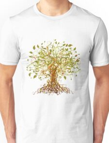Colorful Modernist Tree 13 Unisex T-Shirt