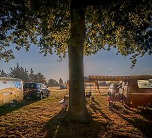 Bolers At Dawn by Steve Walser