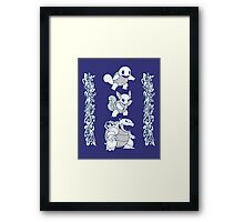 Blue Evolution Framed Print