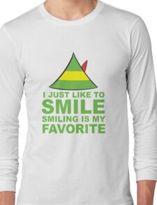 I JUST LIKE TO SMILE SMILING IS MY FAVORITE Long Sleeve T-Shirt