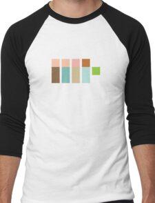 The Real Ghostpixels Men's Baseball ¾ T-Shirt