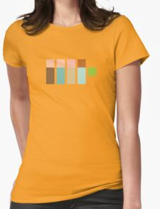 The Real Ghostpixels Womens Fitted T-Shirt