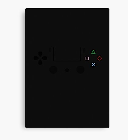Playstation Controller Poster! Canvas Print