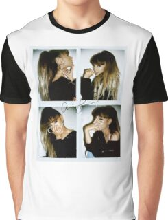 ariana grande polaroid Graphic T-Shirt