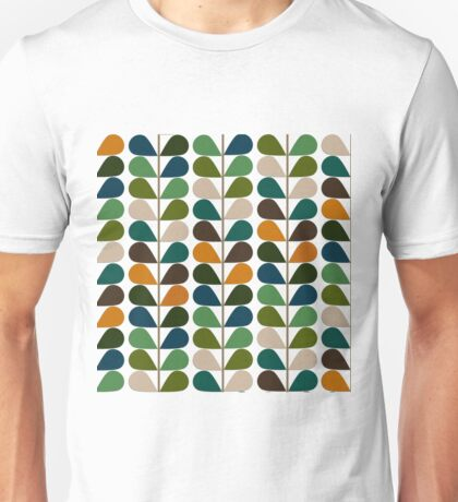 Retro 60s Midcentury Modern Pattern 2 Unisex T-Shirt