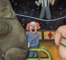 Nightmare Circus Sticker