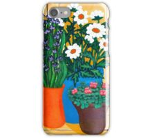 Lavenders, Daisies and Geraniums iPhone Case/Skin