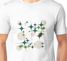 Eames Era Starbursts and Globes Unisex T-Shirt