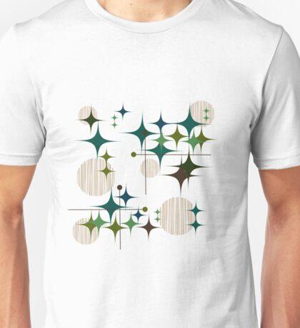 Eames Era Starbursts and Globes Unisex T-Shirt
