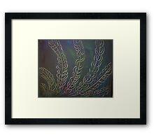 Peaceful Forest Framed Print