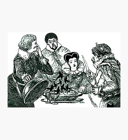 Sing A Song Of Sixpence Nursery Rhyme Photographic Print