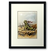 Lizard King Framed Print