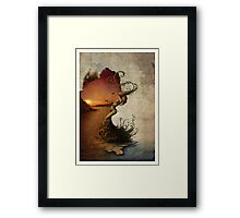 Jericho Rose. Framed Print