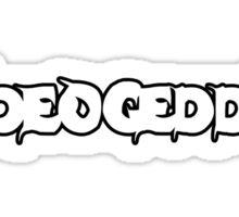 VIDEOGEDDON - SPOOKY LOGO Sticker