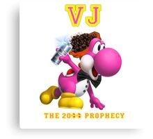 VJ, THE 20 EGGS-EGGS PROPHECY Canvas Print