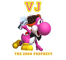 VJ, THE 20 EGGS-EGGS PROPHECY Photographic Print