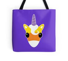 Halloween Candy Corn Unicorn Tote Bag