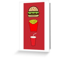 Food Essentials  Greeting Card