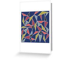 Triangle Mish-Mash Greeting Card