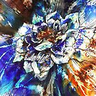 'radiating love' by Rebecca Yoxall