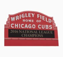 Chicago Cubs Wrigley Marquee Kids Tee