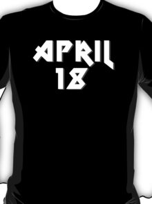 "April 18th ""AS Day"" T-Shirt"