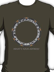 OmniGate (What's Your Address? version) T-Shirt