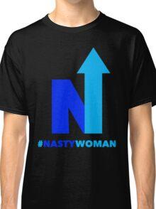 Nasty Woman vote blue Classic T-Shirt