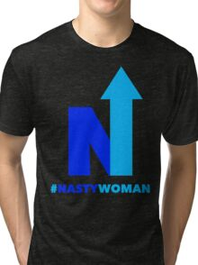 Nasty Woman vote blue Tri-blend T-Shirt