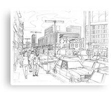 Rush Hour in Venneburg Canvas Print