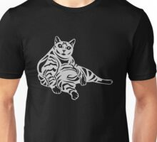 Striped Cat Unisex T-Shirt