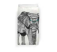 One Tribal Elephant Duvet Cover