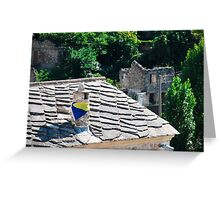 Chimney in Mostar Greeting Card