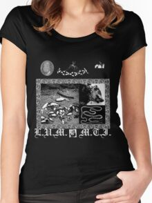 Lil Ugly Mane- Mista Thug Isolation  Women's Fitted Scoop T-Shirt