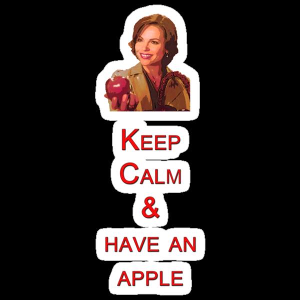 Keep Calm & have an apple by eleanor89