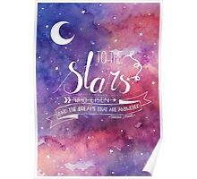 To the stars ACOMAF Quote Poster