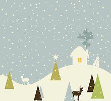 Christmas small house by Aleksander1